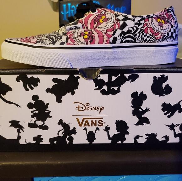 Vans Shoes | Authentic Disney Vans Cheshire Cat | Poshmark